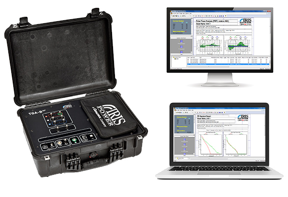 Rumtechs IrisPower Partial Discharge Monitoring TGA-B software